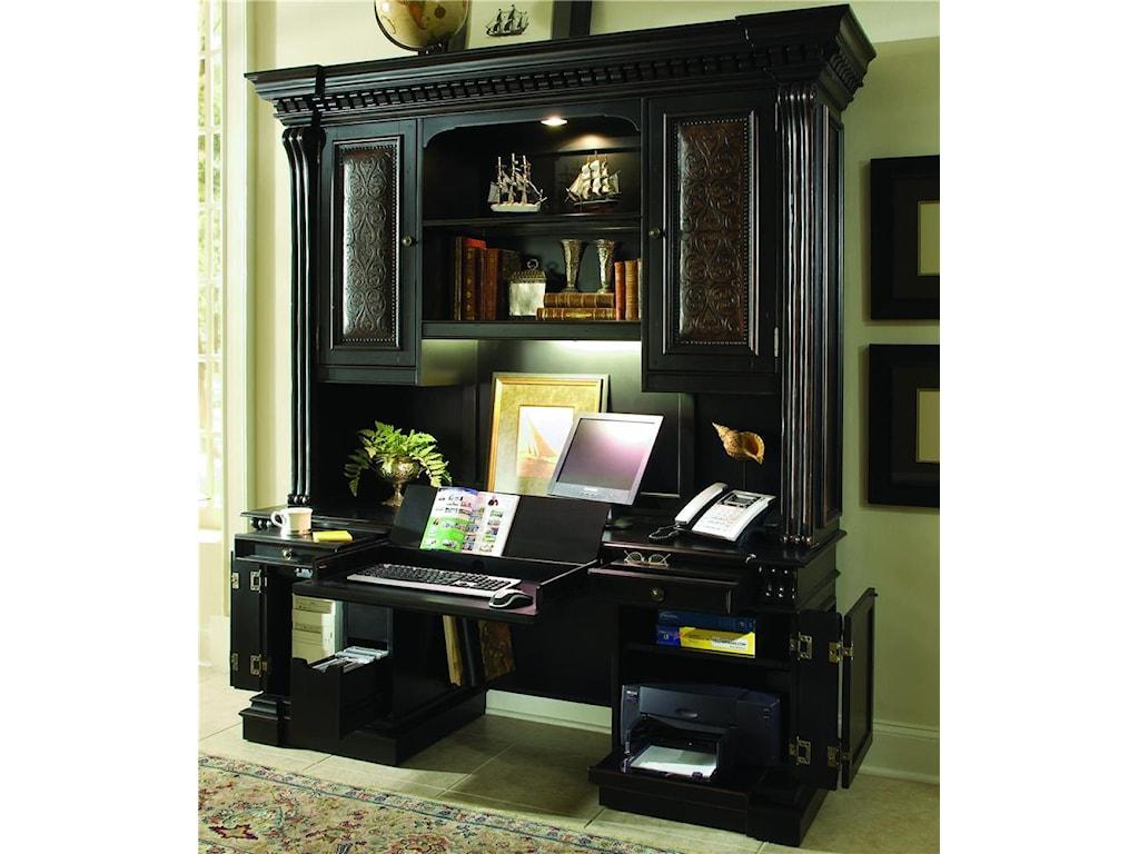 Hooker Furniture TellurideComputer Credenza & Hutch