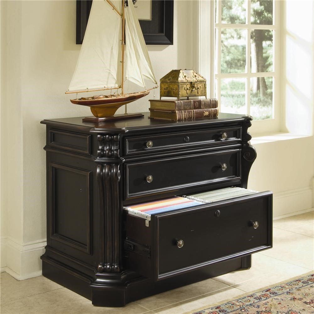 Hooker Furniture Telluride 2 Drawer Locking Lateral File Cabinet