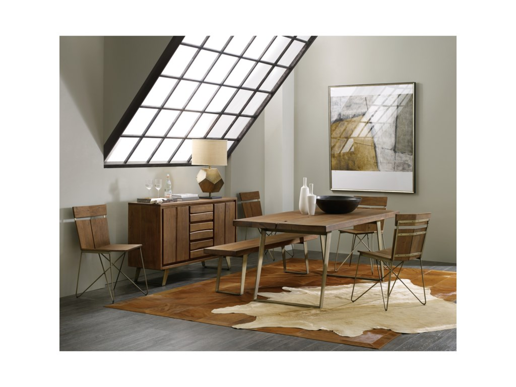 Hooker Furniture TranscendModern Contemporary Chair