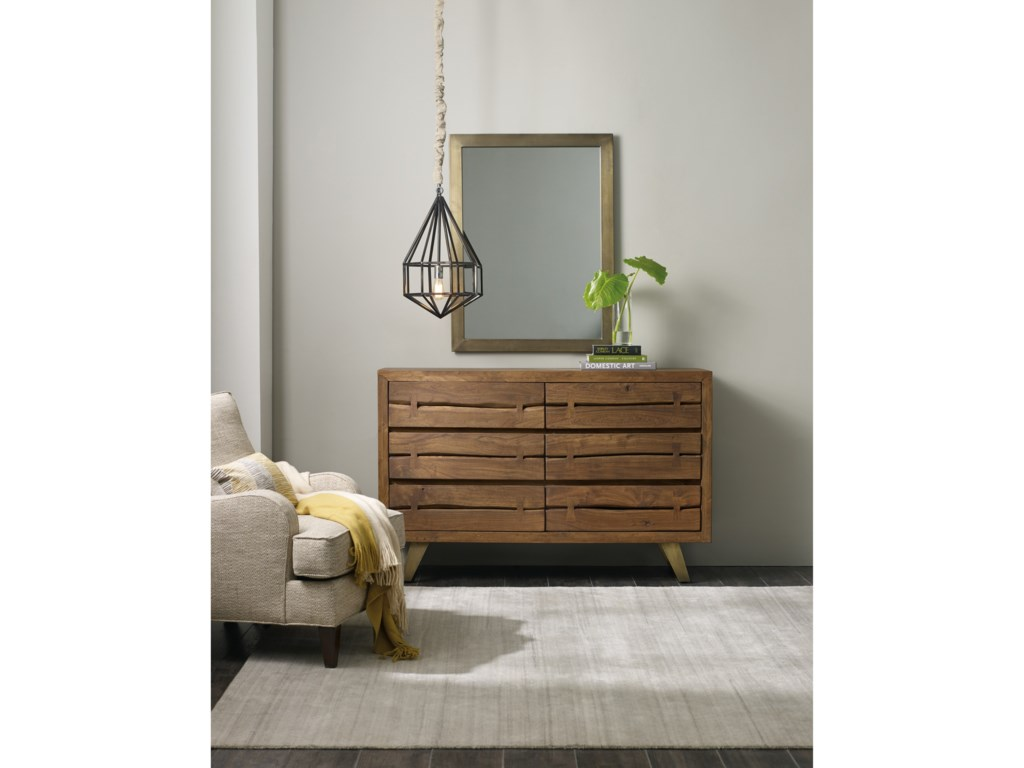 Hooker Furniture Transcend6 Drawer Dresser
