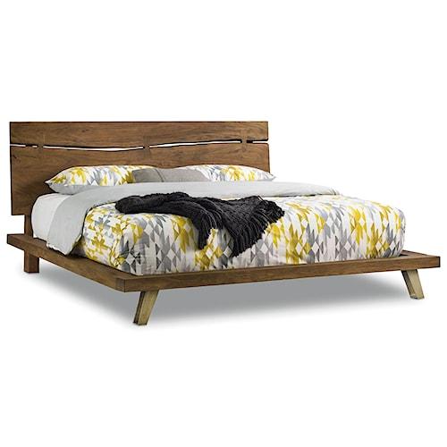 Hooker Furniture Transcend Queen Platform Bed   Wayside Furniture ...