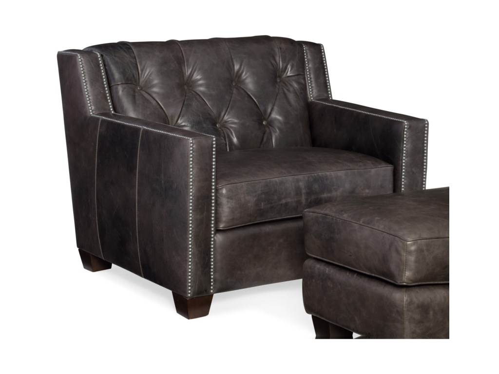 Hooker Furniture TrellisStationary Leather Chair