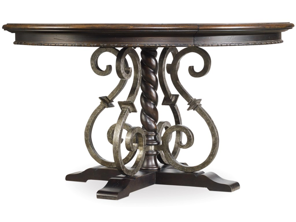 Hooker Furniture Treviso54in Round Dining Table