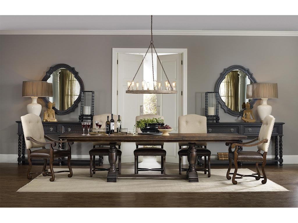 Hooker Furniture TrevisoTrestle Dining Table
