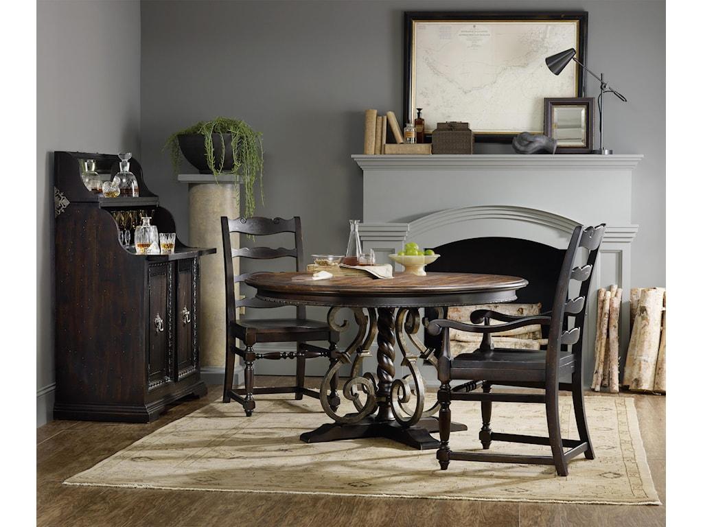 Hooker Furniture TrevisoLadderback Arm Chair