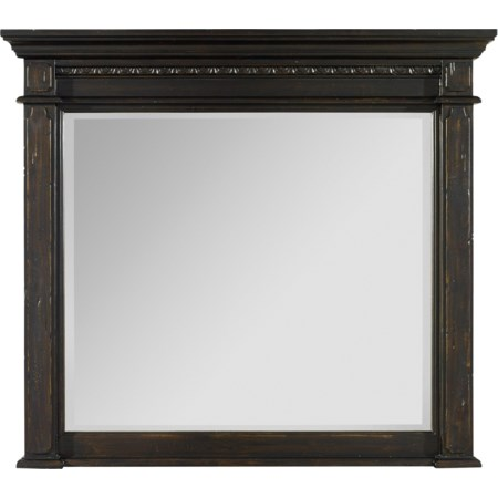 Mantle Landscape Mirror