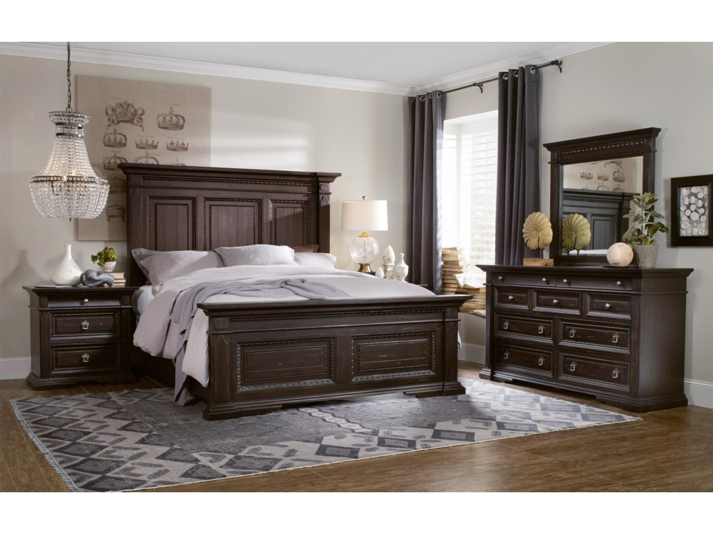 Hooker Furniture TrevisoCalifornia King Panel Bed