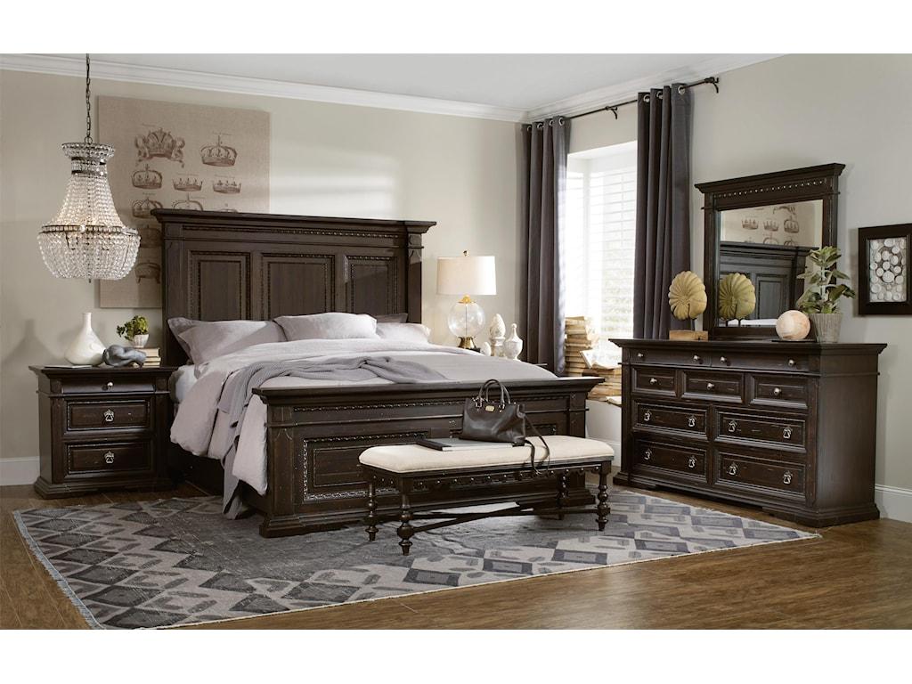 Hooker Furniture TrevisoKing Panel Bed
