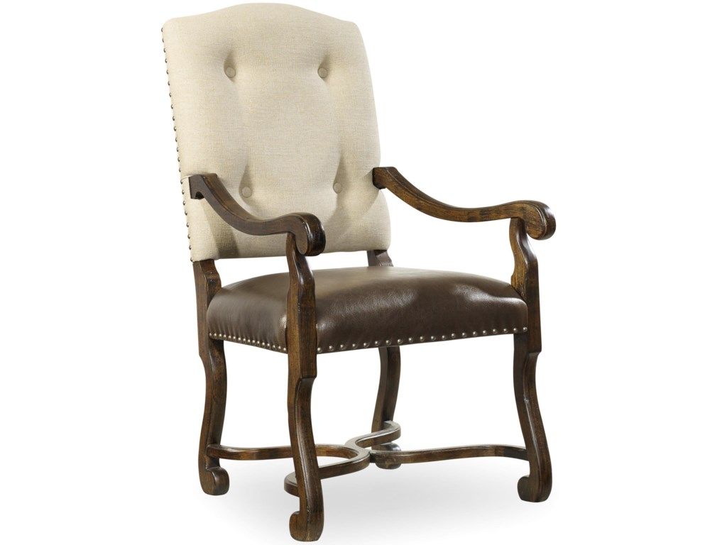 Hooker Furniture TrevisoCamelback Arm Chair