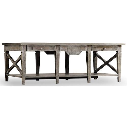Hooker Furniture True Vintage Rectangle Cocktail Table