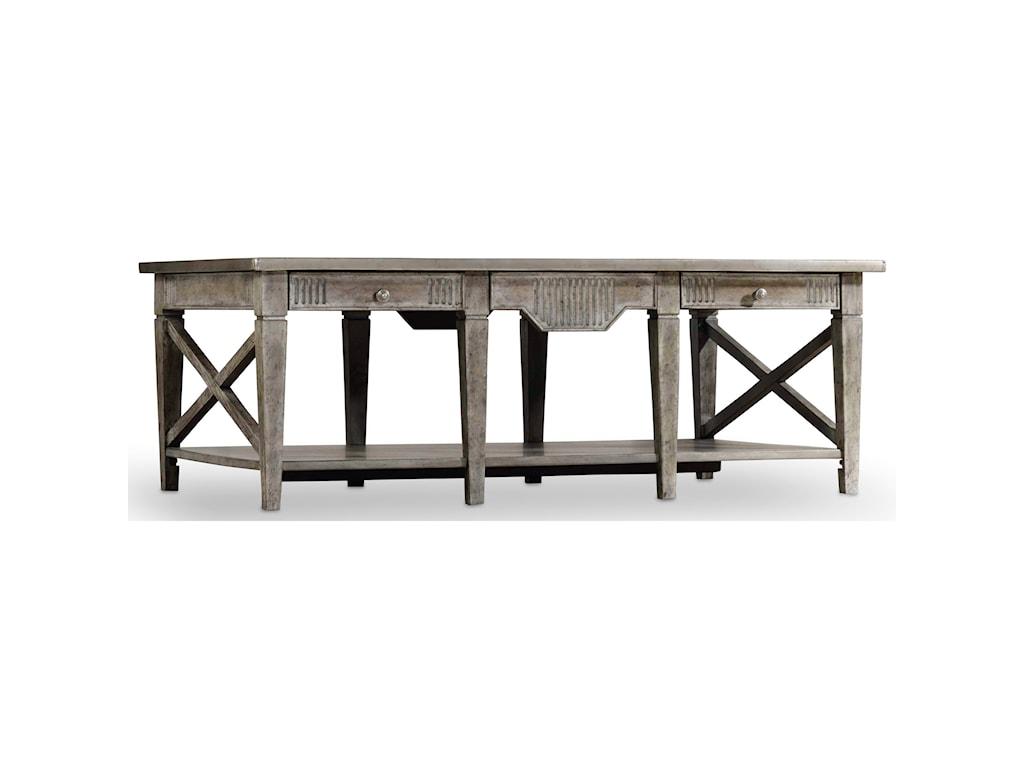 Hooker Furniture True VintageRectangle Cocktail Table