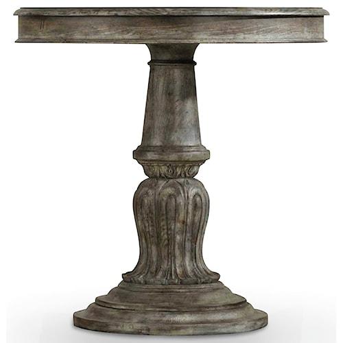 Hooker Furniture True Vintage Bedside Table with Pedestal Base