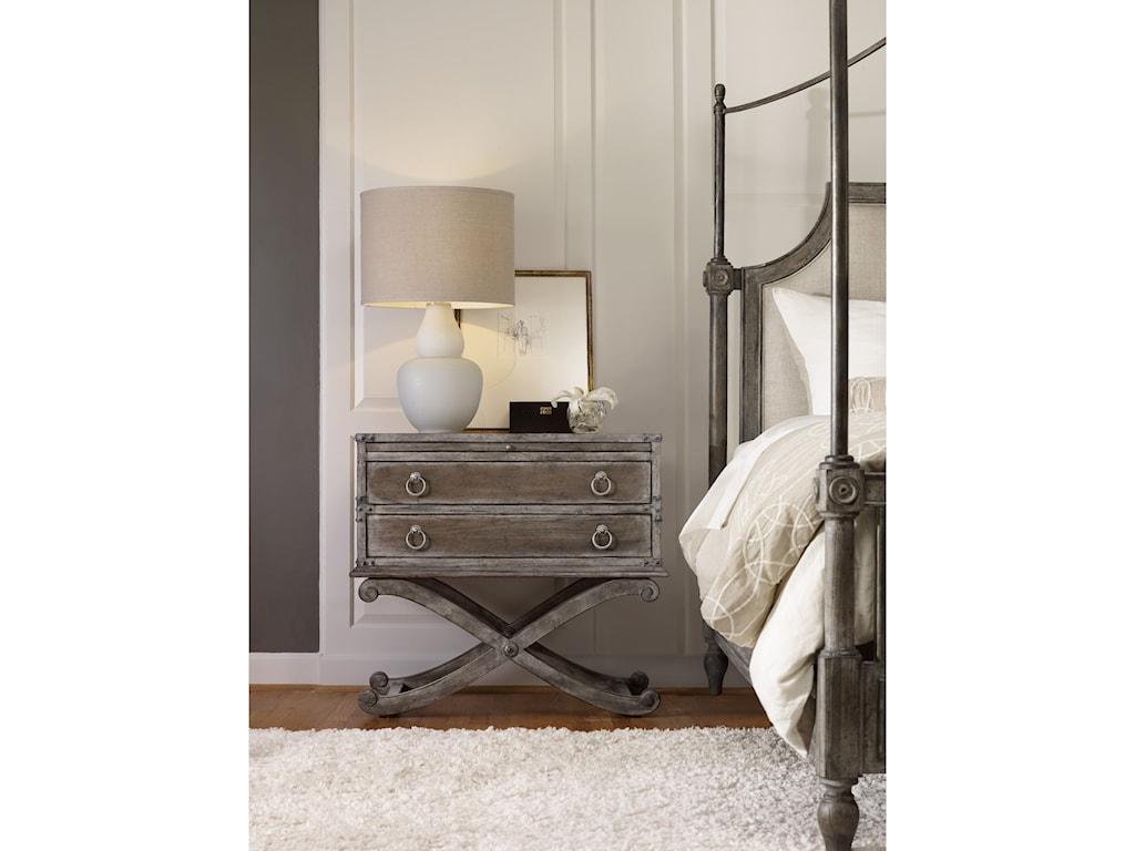 Hooker Furniture True Vintage2 Drawer Nightstand