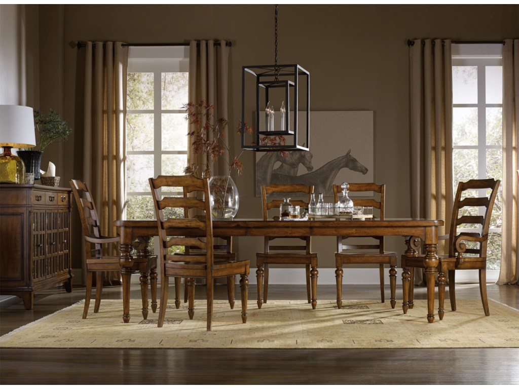 Hooker Furniture TynecastleFormal Dining Room Group