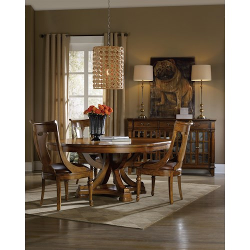 Hooker Furniture Tynecastle Casual Dining Room Group