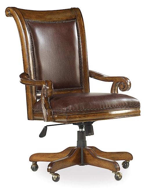 Hooker Furniture Tynecastle Traditional Executive Tilt Swivel Chair