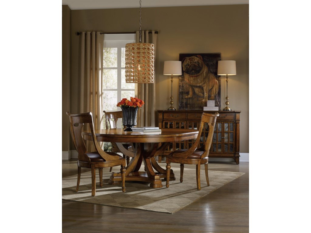 Hooker Furniture TynecastleTable and Chair Set