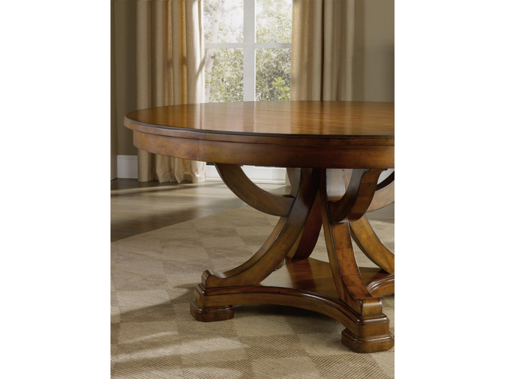 Hooker Furniture Tynecastle Traditional 60-Inch Round ...