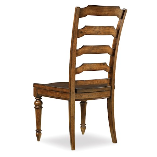 Hooker Furniture Tynecastle Traditional Ladderback Side Dining Chair