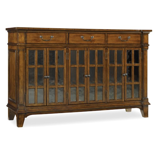Hooker Furniture Tynecastle Traditional Dining Buffet