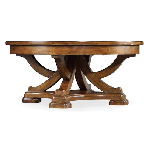 Hooker Furniture Tynecastle Traditional Round Cocktail Table