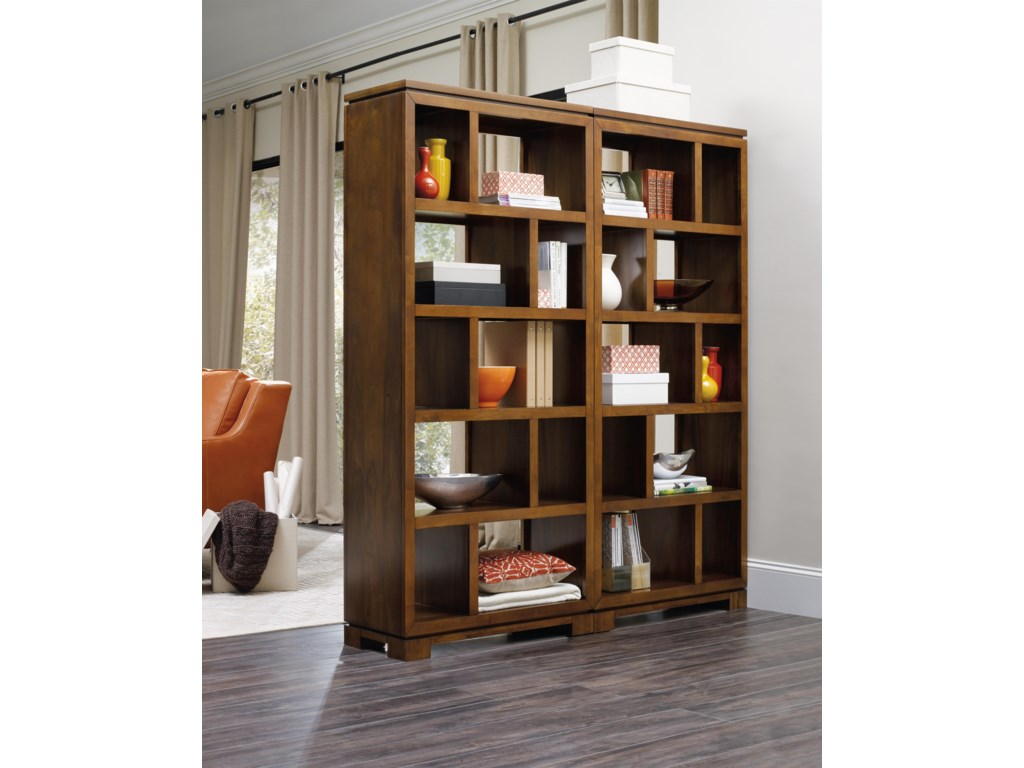 bookcase bookcases hooker hutch home grandover c furniture office