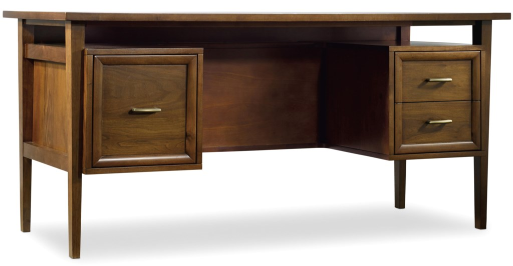 Hooker Furniture Viewpoint 64 Inch Desk With 3 Drawers Belfort