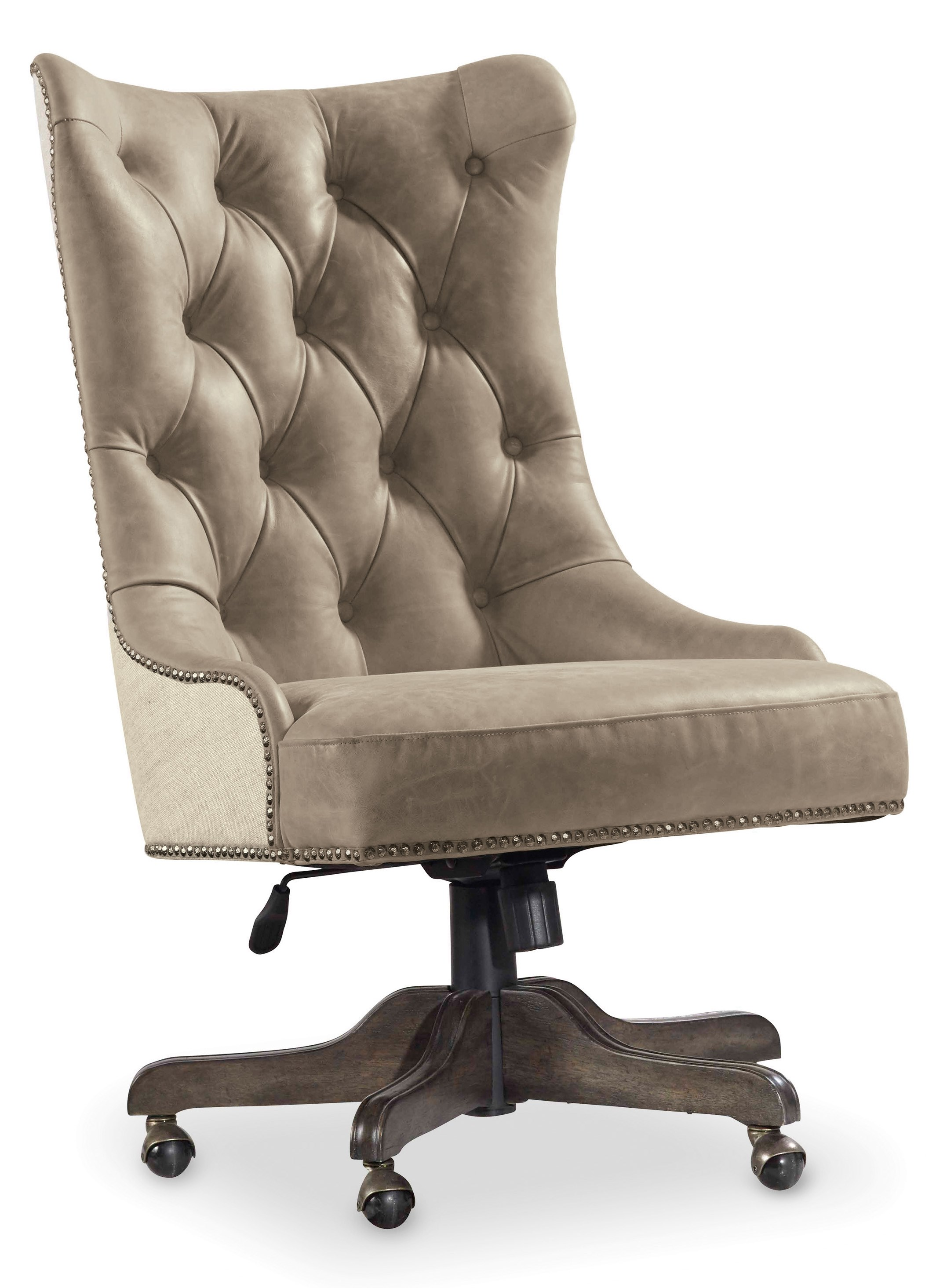 Hooker Furniture Vintage West Executive Desk Chair With Tufted Back