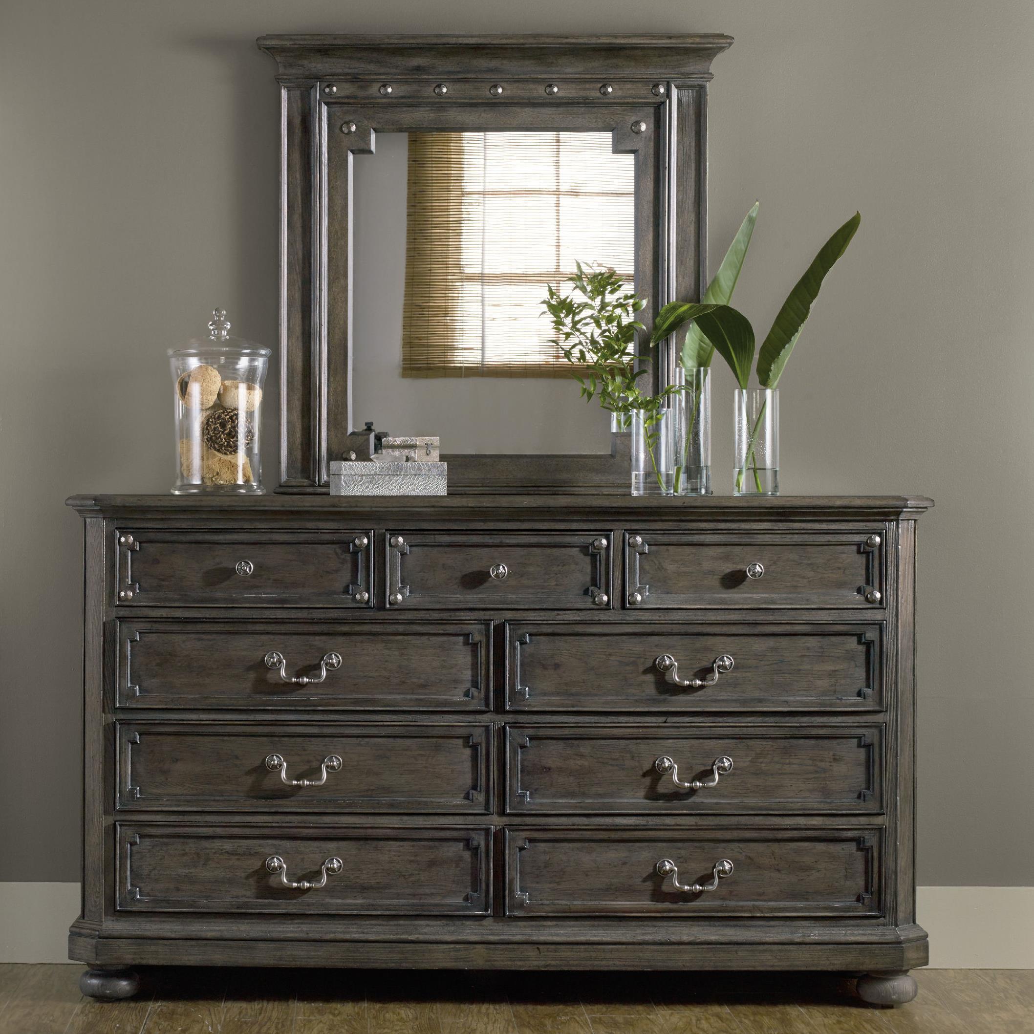 Hooker Furniture Vintage WestDresser And Mirror