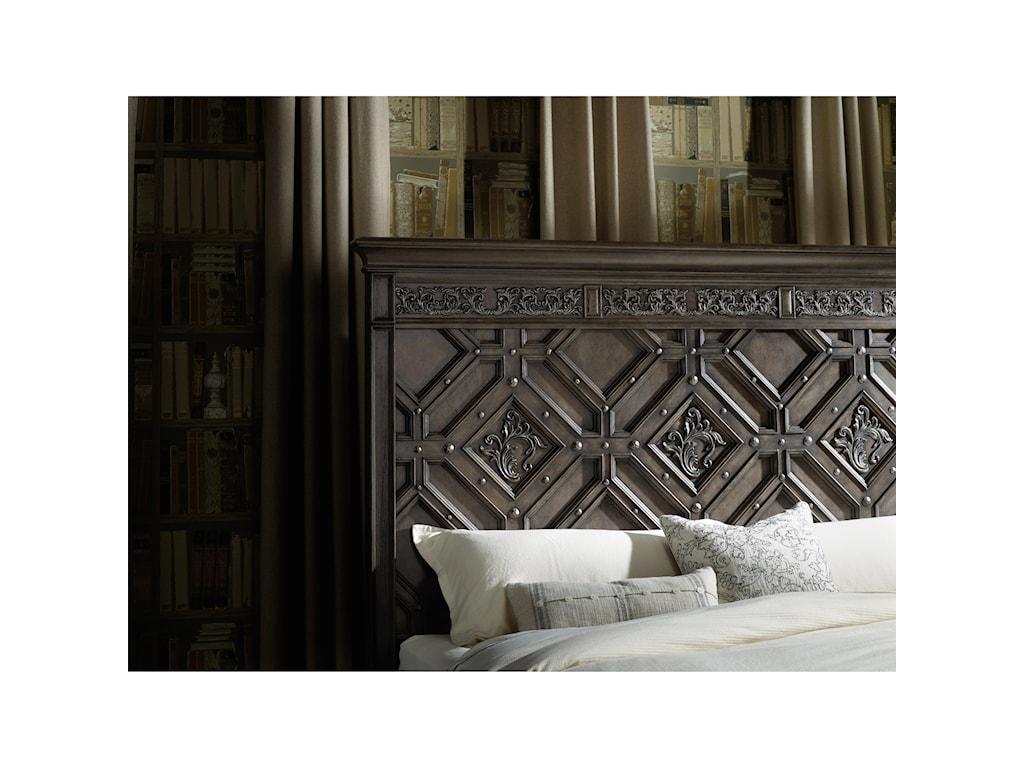 Hooker Furniture Vintage WestKing Wood Panel Bed