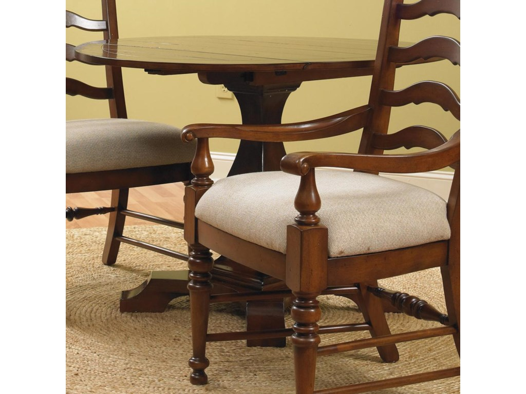 Two 10-Inch Drop Leaves Adjust the Table Size and Shape As Needed