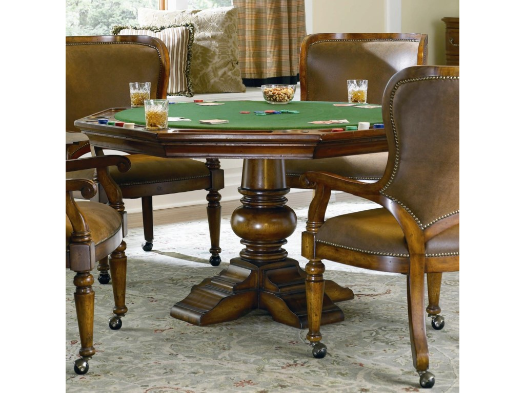 Hooker Furniture Waverly PlaceReversible Poker Table