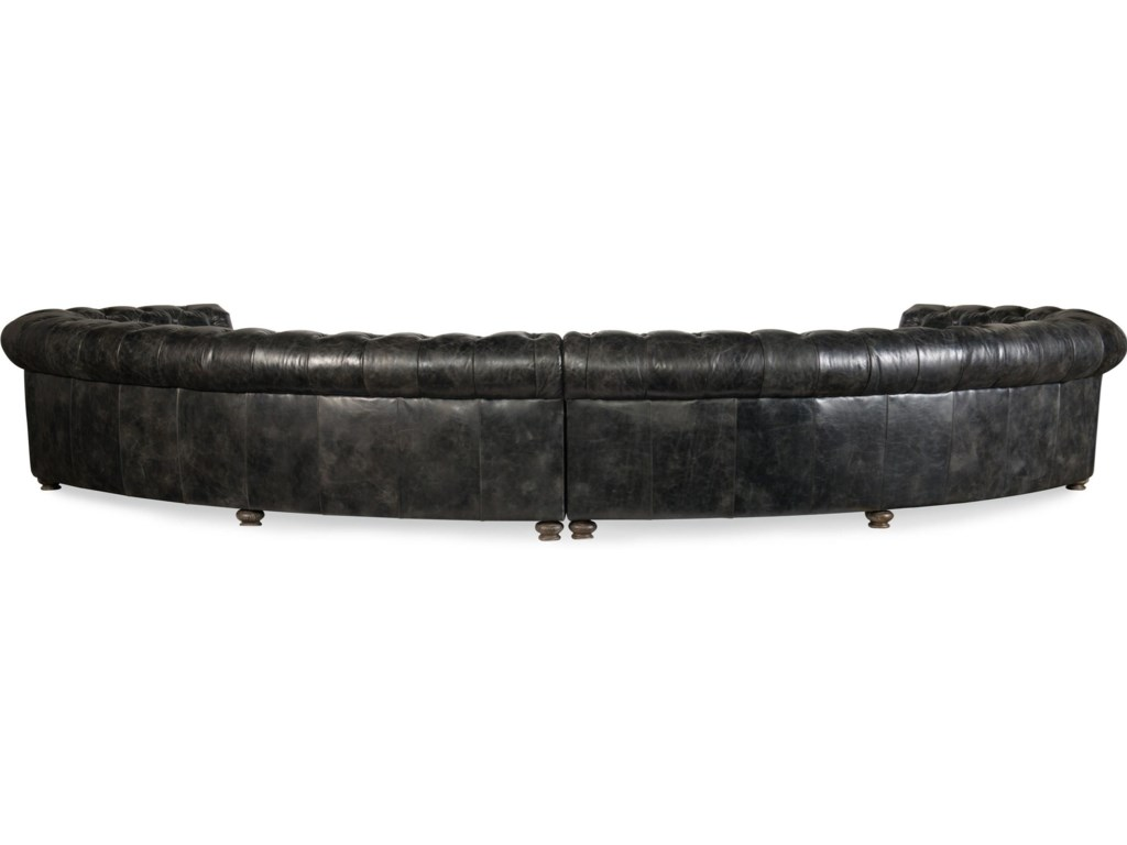 Weldon Majesty Tufted Sectional Sofa