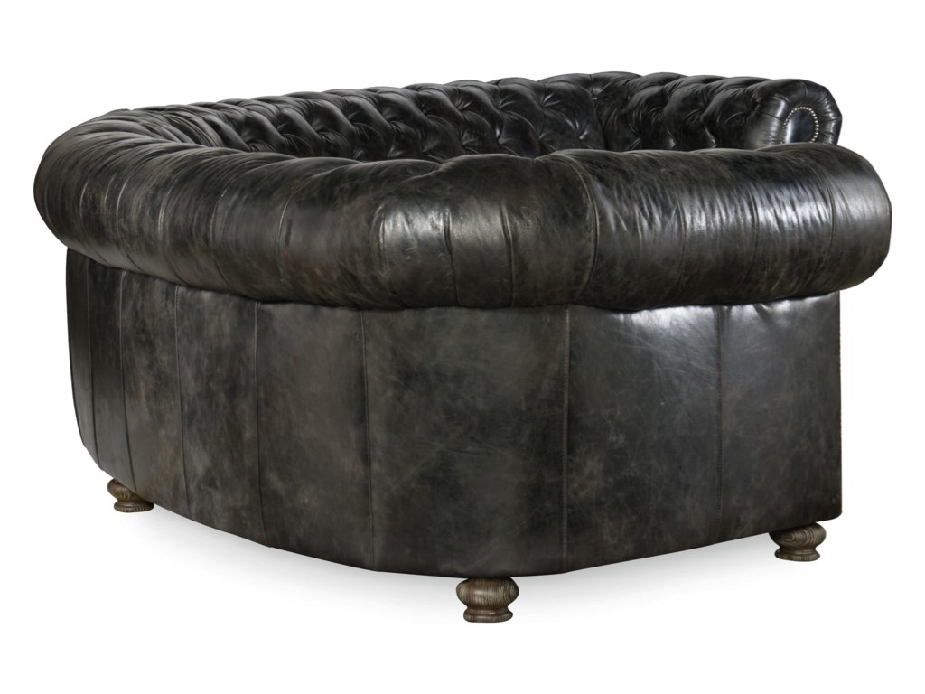Hooker Furniture WeldonMajesty Tufted Sectional Sofa