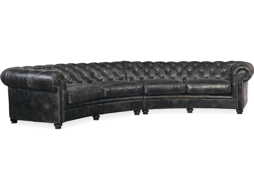 Hooker Furniture Weldon SS419-SC-096 Leather Tufted ...