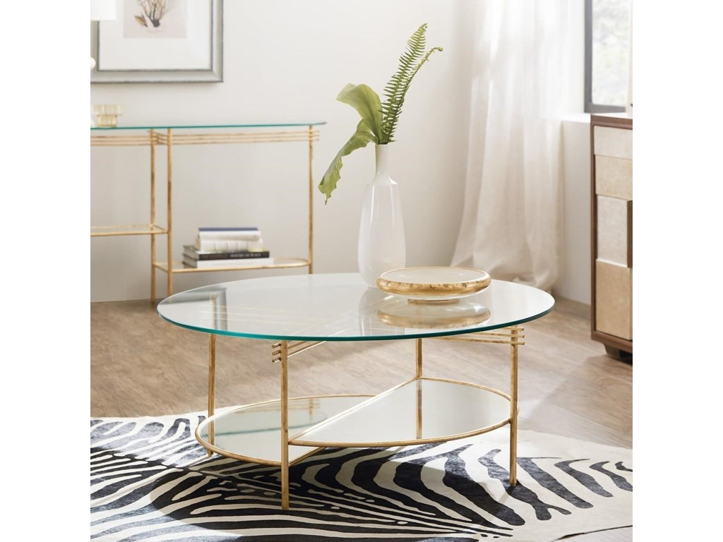Hooker Furniture Well BalancedRound Cocktail Table