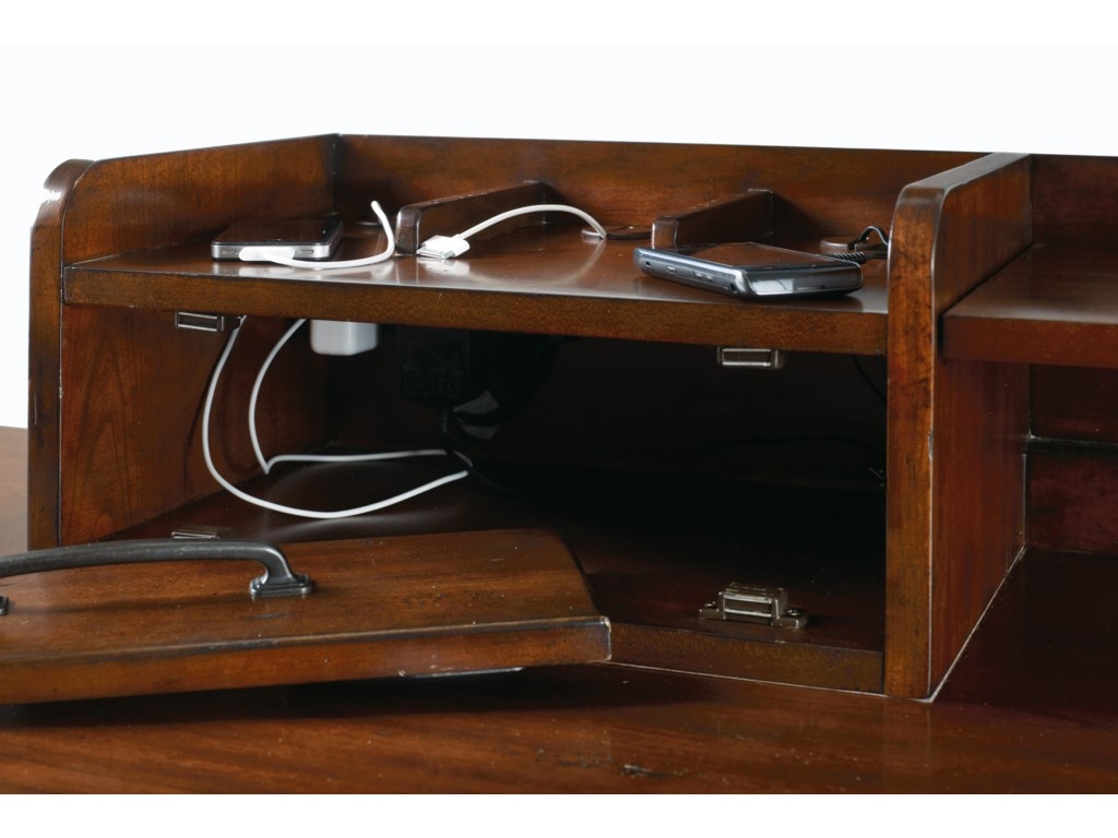 Hooker Furniture WendoverComputer Credenza and Smart Hutch Combo