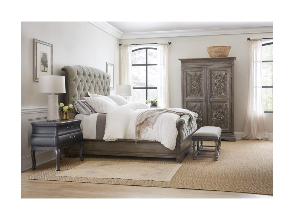 Hooker Furniture WoodlandsCalifornia King Bedroom Group