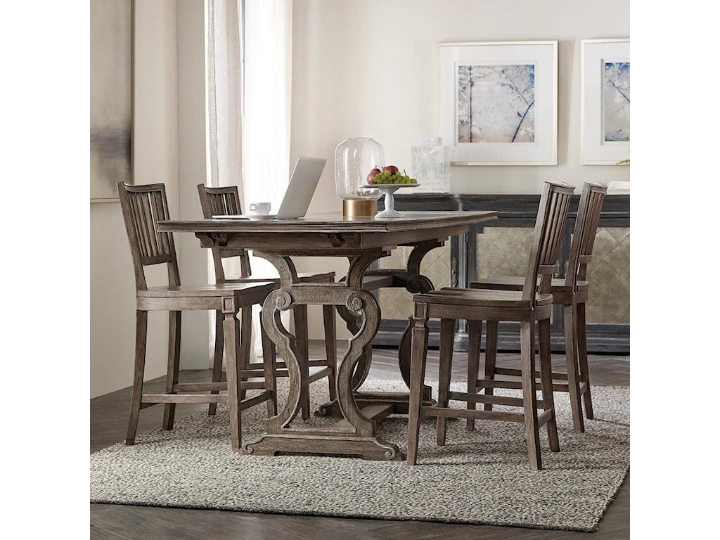 Hooker Furniture WoodlandsFriendship Table