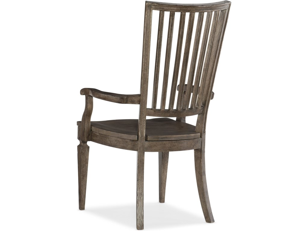 Hooker Furniture WoodlandsWood Back Arm Chair