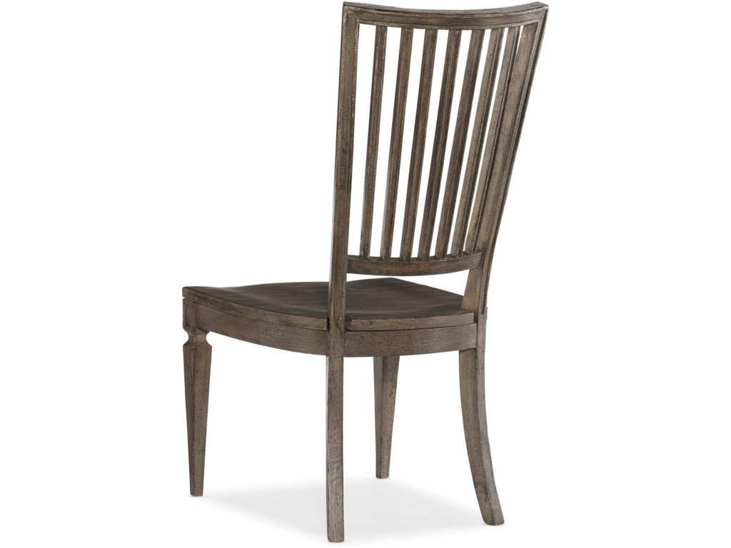 Hooker Furniture WoodlandsWood Back Side Chair