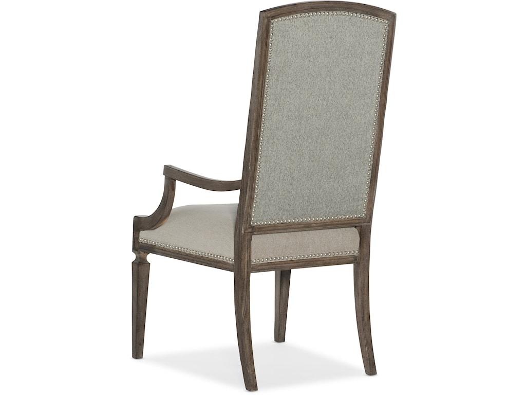 Hooker Furniture WoodlandsArched Upholstered Arm Chair