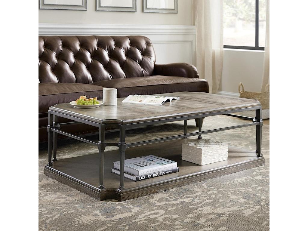 Hooker Furniture WoodlandsRectangular Cocktail Table