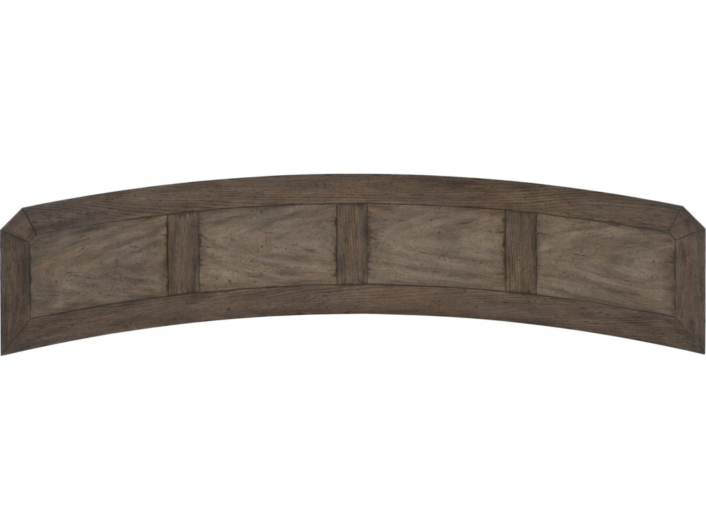 Hooker Furniture WoodlandsCurved Console Table