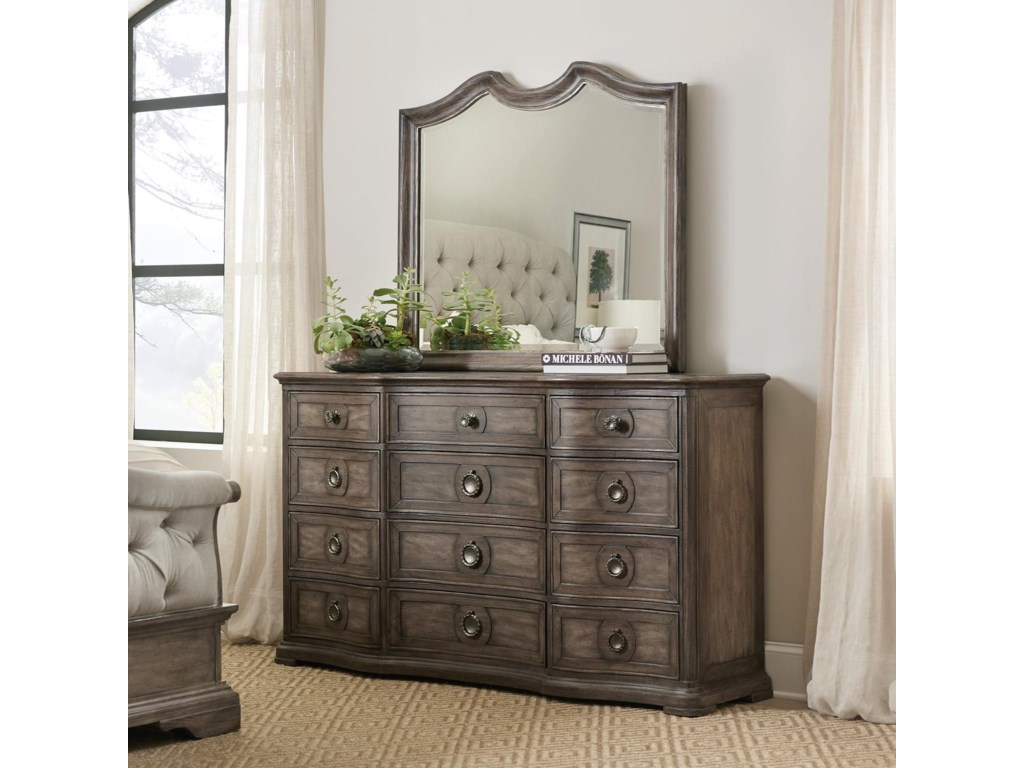 Hooker Furniture WoodlandsDresser Mirror