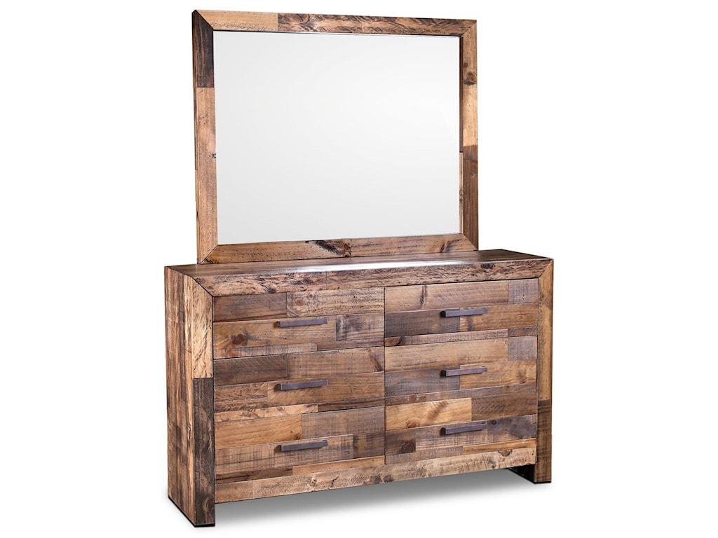 Horizon Home Boardwalk6 Drawer Dresser