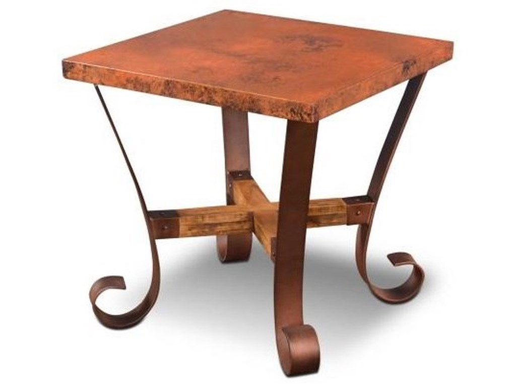 Horizon Home BarcelonaRectangular Cocktail Table and Square End Ta