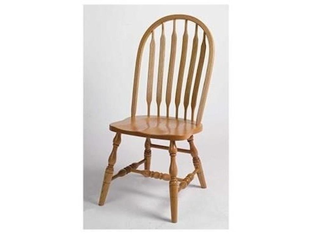 Horseshoe Bend Bent PaddleRegular Bent Paddle High Back Side Chair