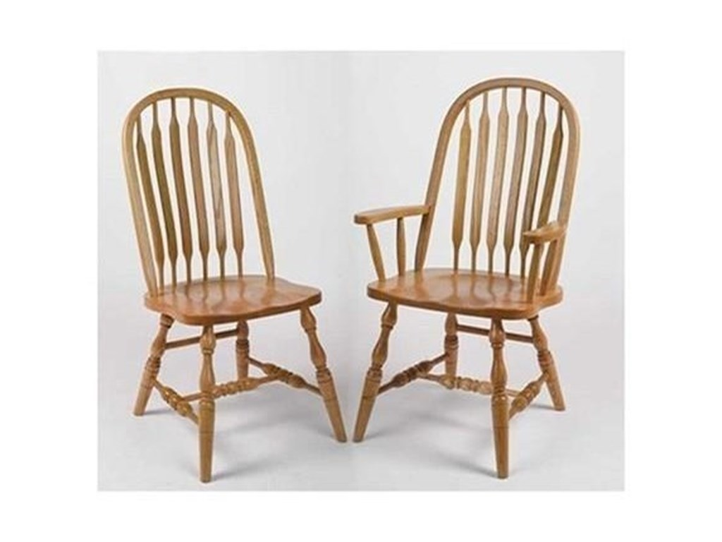 Horseshoe Bend Bent PaddleDeluxe Bent Paddle High Back Side Chair