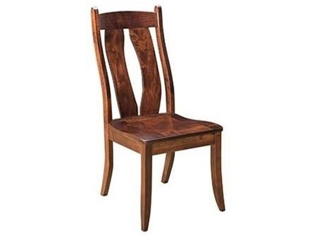 Horseshoe Bend BridgeportSolid Wood Customizable Side Chair